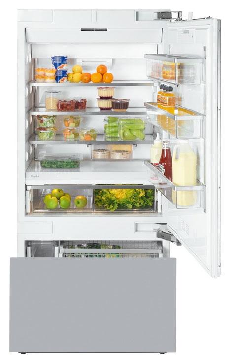 Холодильник с морозильником Miele KF 1901 Vi встраиваемый по цене 959 900 купить в Москве   Характеристики и описание Miele KF 1901 Vi в интернет-магазине Euroflett